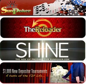 SunPoker shine the reloader 1000 tournament