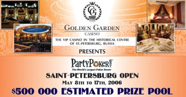 golden garden poker open
