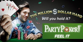 million dollar hand partypoker