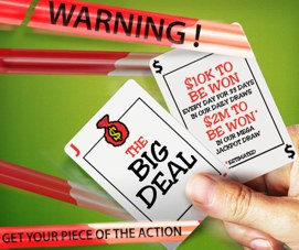 the big deal promo party poker