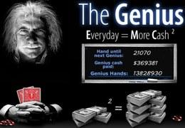 the genius party poker
