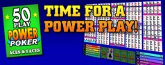 50 play power poker