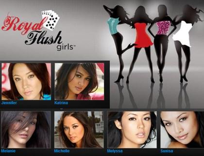 the royal flush girls